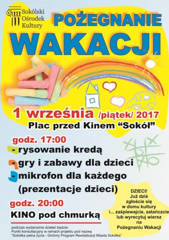 Festyn Na Pożegnanie Wakacji